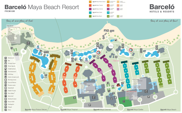 Barcelo Bavaro Palace Deluxe Map Pictures To Pin On Pinterest Pinsdaddy